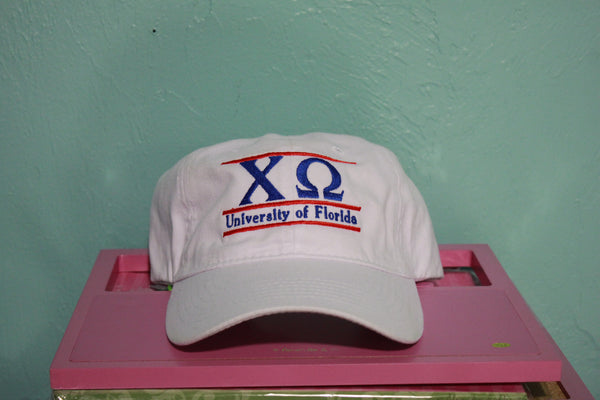 Chi Omega University of Florida Traditional Greek Hat