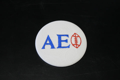 Alpha Epsilon Phi Football Button