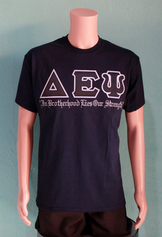 "Delta Epsilon Psi ""In Brotherhood"" Tee"