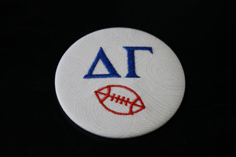 Delta Gamma Football Button