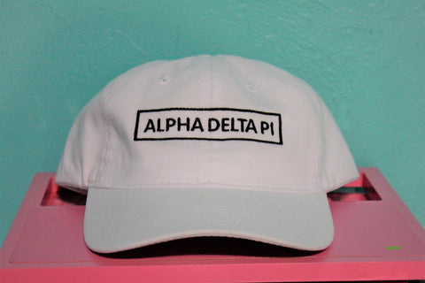 Alpha Delta Pi Rectangle Hat