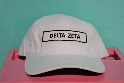 Delta Zeta Rectangle Hat