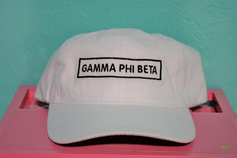 Gamma Phi Beta Rectangle Hat