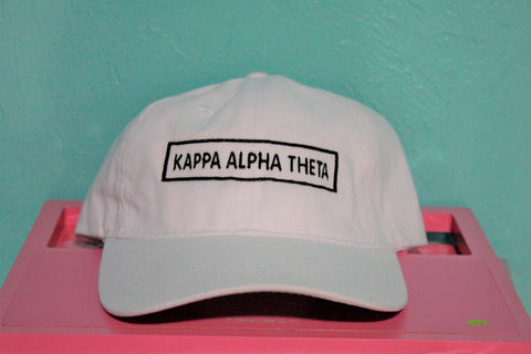 Kappa Alpha Theta Rectangle Hat