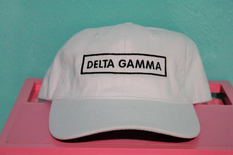 Delta Gamma Rectangle Hat