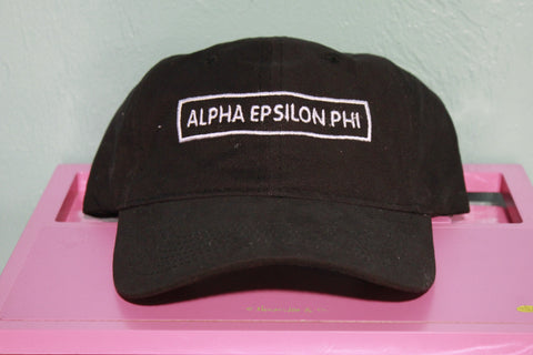 Alpha Epsilon Phi Rectangle Hat