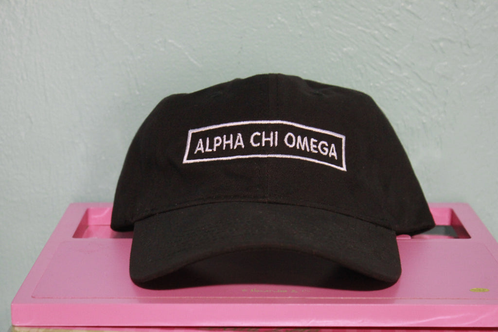 Alpha Chi Omega Rectangle Hat