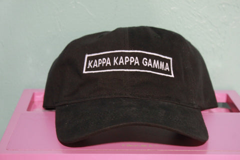 Kappa Kappa Gamma Rectangle Hat