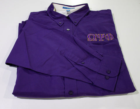 Omega Psi Phi Dress Shirt