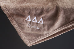 Sorority Plush Blanket