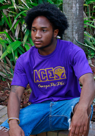 Omega Psi Phi Word T-shirt