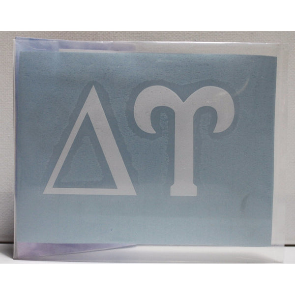 Delta Upsilon Block Decal