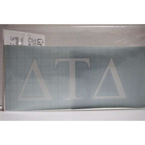 Delta Tau Delta Block Decal