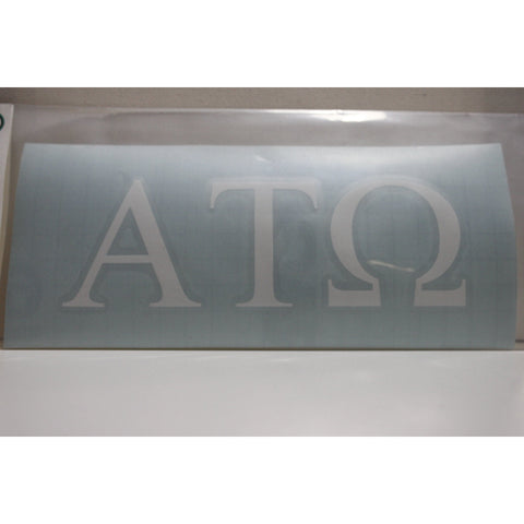 Alpha Tau Omega Vinyl Decal