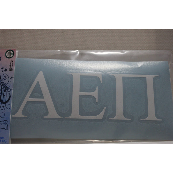 Alpha Epsilon Pi Block Decal