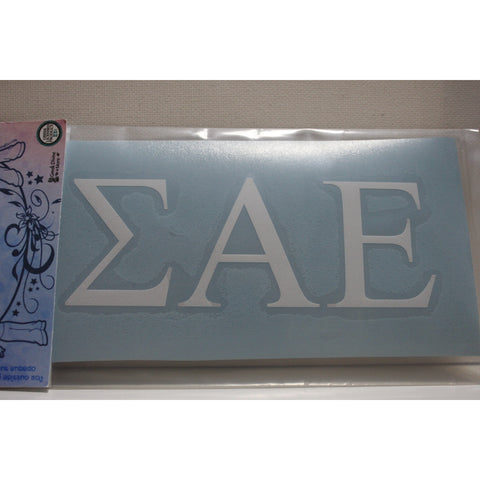 Sigma Alpha Epsilon Vinyl Decal