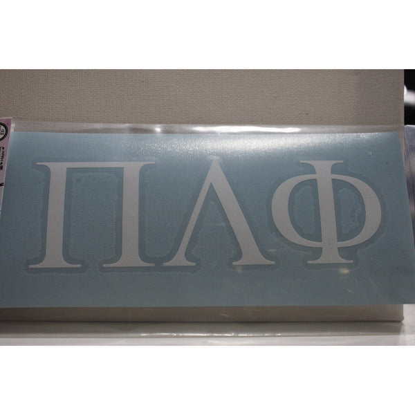 Pi Lambda Phi Block Decal