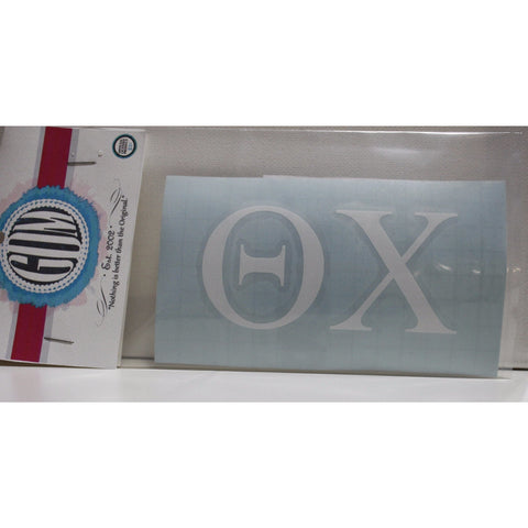 Theta Chi Vinyl Decal