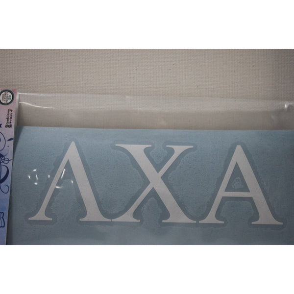 Lambda Chi Alpha Block Decal