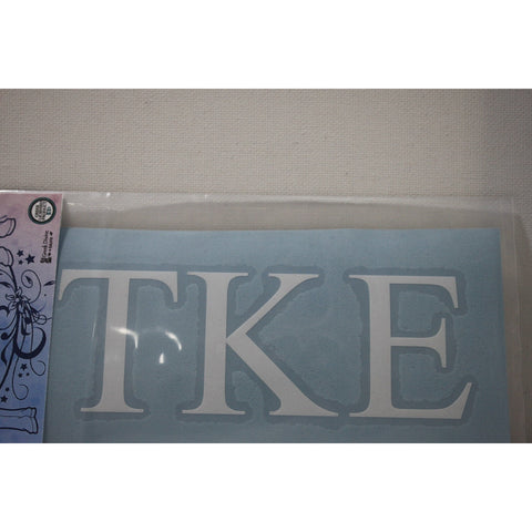 Tau Kappa Epsilon Vinyl Decal