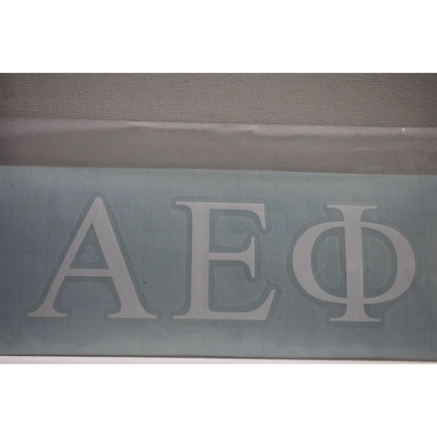 Alpha Epsilon Phi Vinyl Decal
