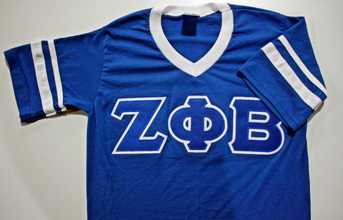 Zeta Phi Beta Stripe Sleeve Jersey
