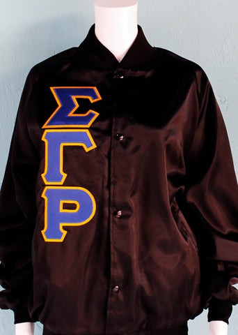 Sigma Gamma Rho Satin Jacket