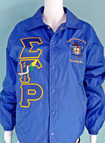 Sigma Gamma Rho Embellished Crossing Jacket