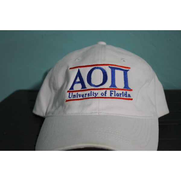 Alpha Omicron Pi University of Florida Traditional Greek Hat
