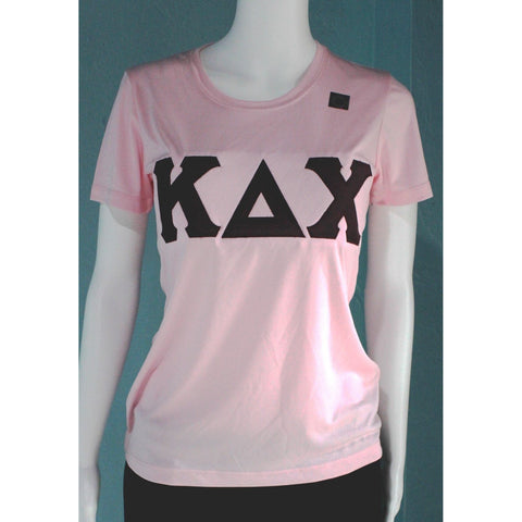 Kappa Delta Chi Pink Dry-Fit Tee