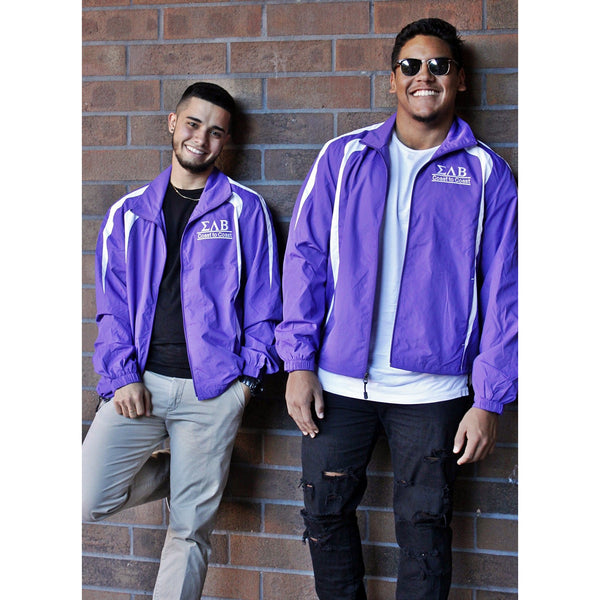 Sigma Lambda Beta Zip-Up Windbreaker