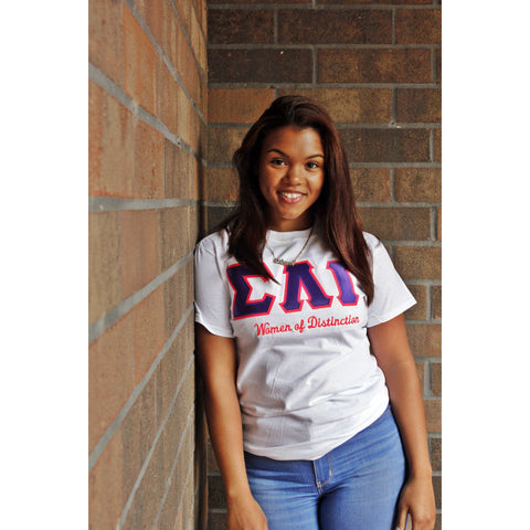 Sigma Lambda Gamma Women of Distinction Tee