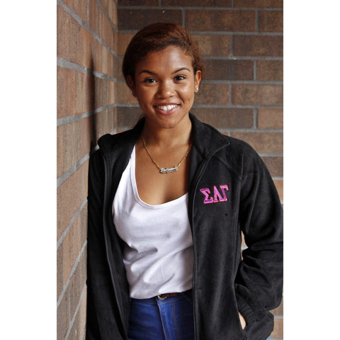 Sigma Lambda Gamma Zip-Up Fleece