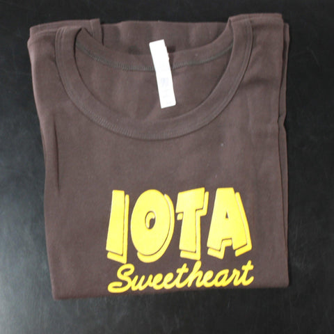 Iota Sweetheart Bold Fitted Tank