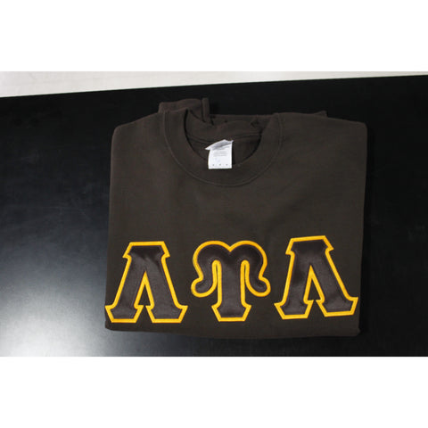 Lambda Upsilon Lambda Brown Crewneck
