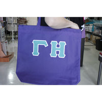 Gamma Eta Large Tote Bag
