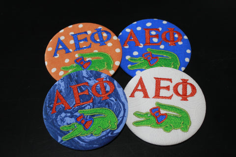 Alpha Epsilon Phi Gator Game Day Button
