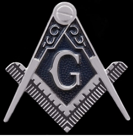 Die-Cut Car Badge (Masonic)