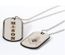 Mason Epoxy Dog Tag