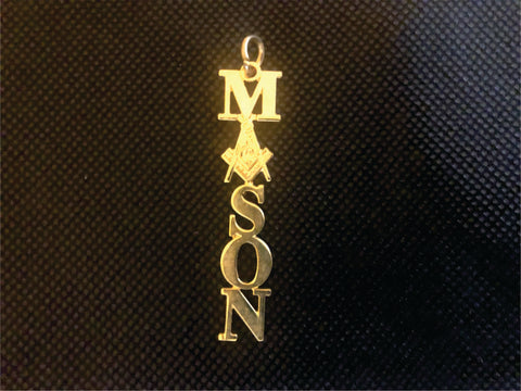 Masons Necklace Charm