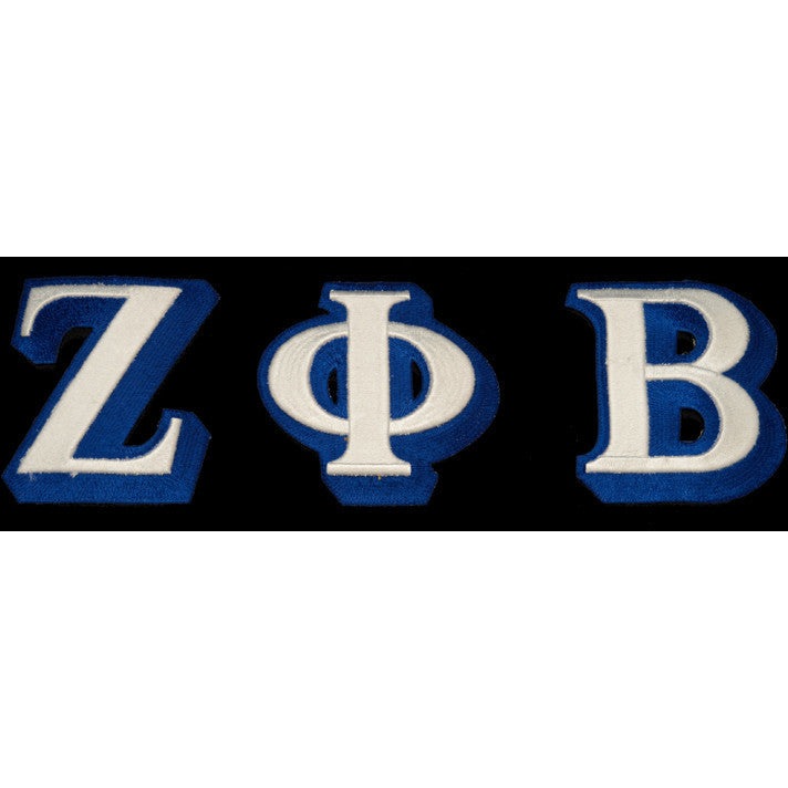 Zeta Phi Beta 3-D Greek Letter Patch