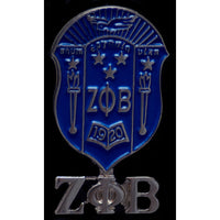 Zeta Phi Beta Shield Pin