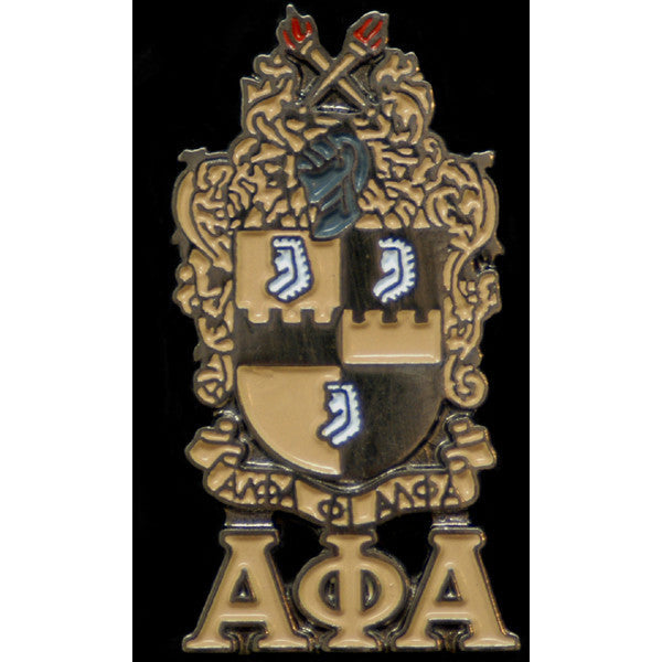 Alpha Phi Alpha Shield Pin