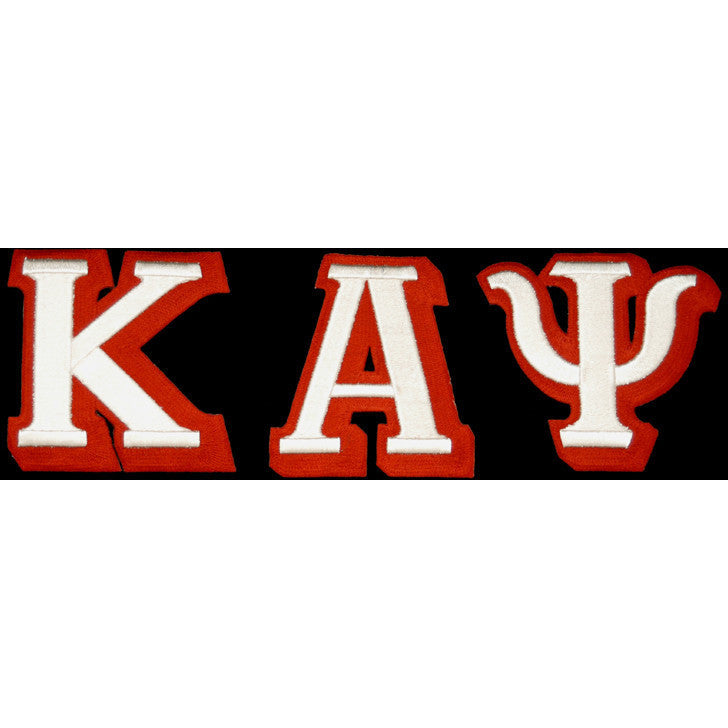 Kappa Alpha Psi 3-D Greek Letter Patch