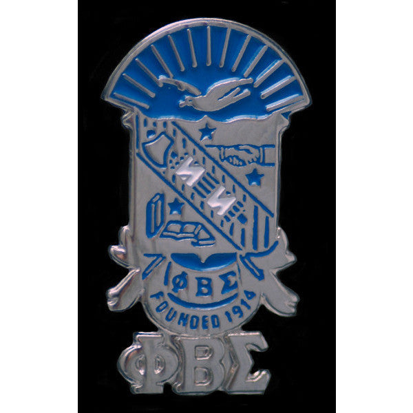 Phi Beta Sigma Shield Pin