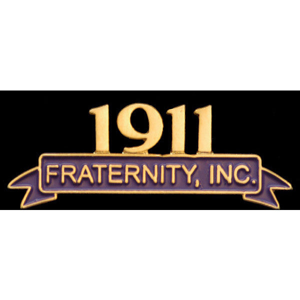 Omega Psi Phi Fraternity Lapel Pin