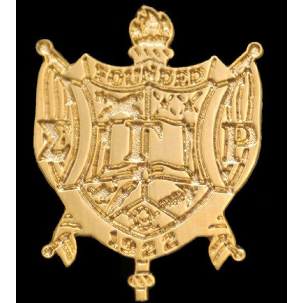Sigma Gamma Rho Sandblast Shield Pin