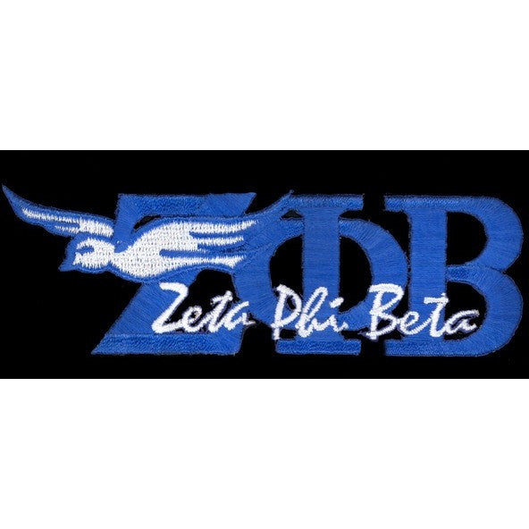 Zeta Phi Beta New Image Patch