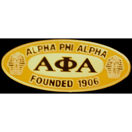 Alpha Phi Alpha Oval Founder Pin