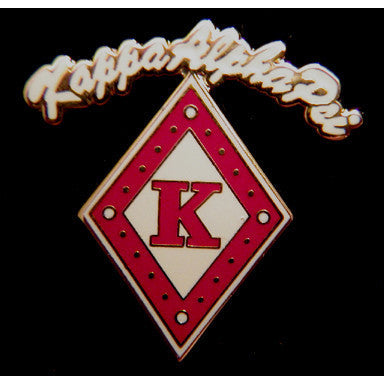 Kappa Alpha Psi Rocker Mascot Pin